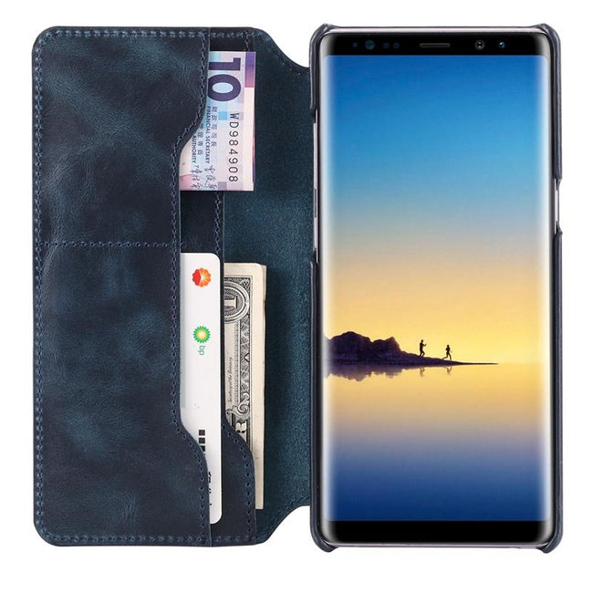 Genuine Leather Wallet Case For Samsung Galaxy Note 8 C0M230201