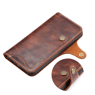 Luxury Leather Case for iPhone and Samsung CTN260205