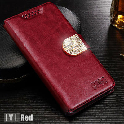 New Luxury Wallet Leather Case for Blackberry Priv