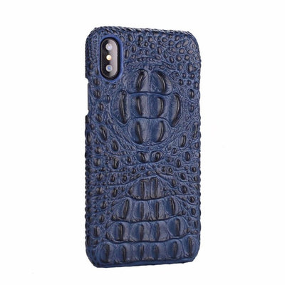 Crocodile Pattern Case for iPhone X C0N230203