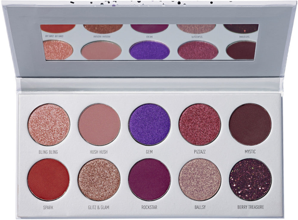 Morphe x Jaclyn Hill The Vault Bling Boss Eyeshadow Palette - Shopping District