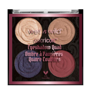 Wet n Wild Rebel Rose Color Icon Eyeshadow Quad - Shopping District