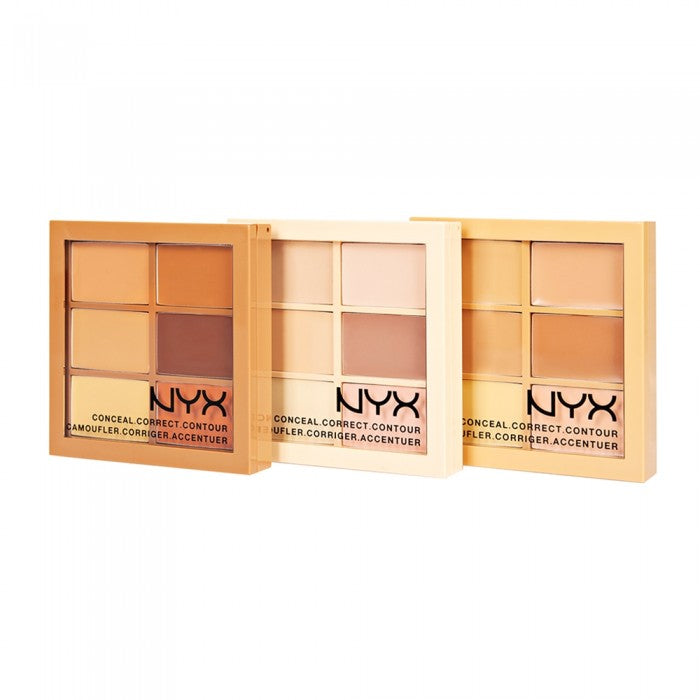 Nyx Conceal, Correct, Contour Palette - Shopping District