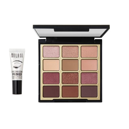MILANI Pure Passion Eyeshadow Palette + Bonus Eyeshadow Primer Kit