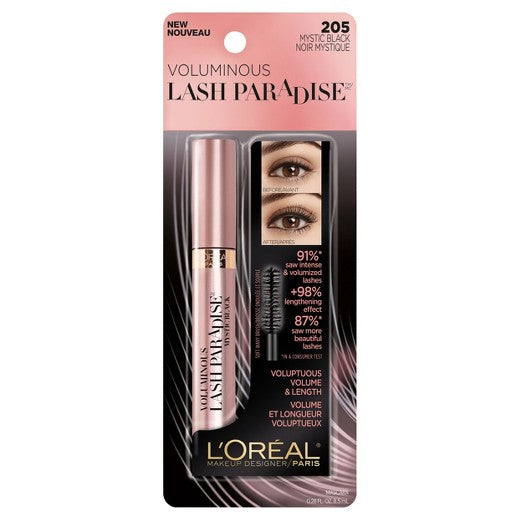 Loreal Paris Voluminous Lash Paradise Washable Mascara - Shopping District