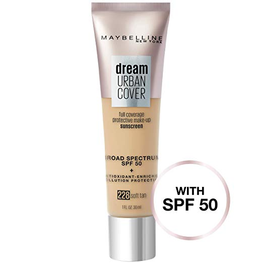 Maybelline Dream Urban Cover Flawless Coverage Foundation - Shopping District