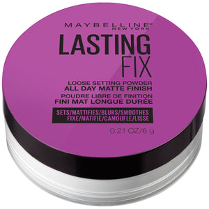 Maybelline Facestudio Lasting Fix Setting + Perfecting Loose Powder, Translucent