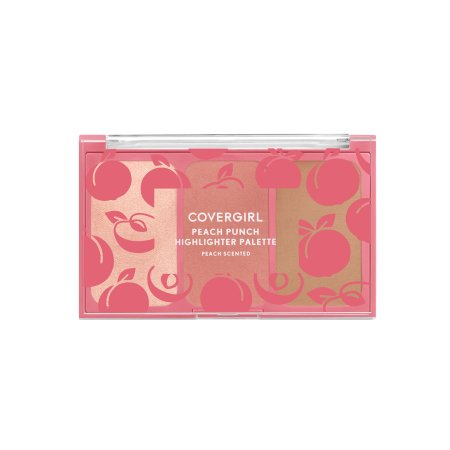 COVERGIRL Peach Scented Collection, Peach Punch Highlighter Palette - Shopping District