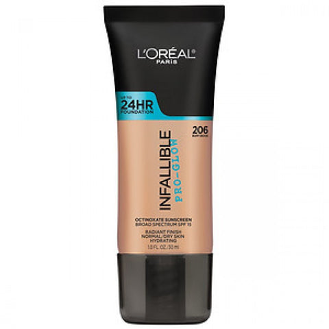 Loreal Infallible Pro-Glow Foundation - Shopping District
