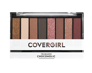 CoverGirl TruNaked Scented Eyeshadow Palette,Chocoholic - Shopping District