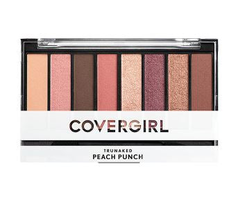 CoverGirl TruNaked Scented Eyeshadow Palette,Peach Punch - Shopping District