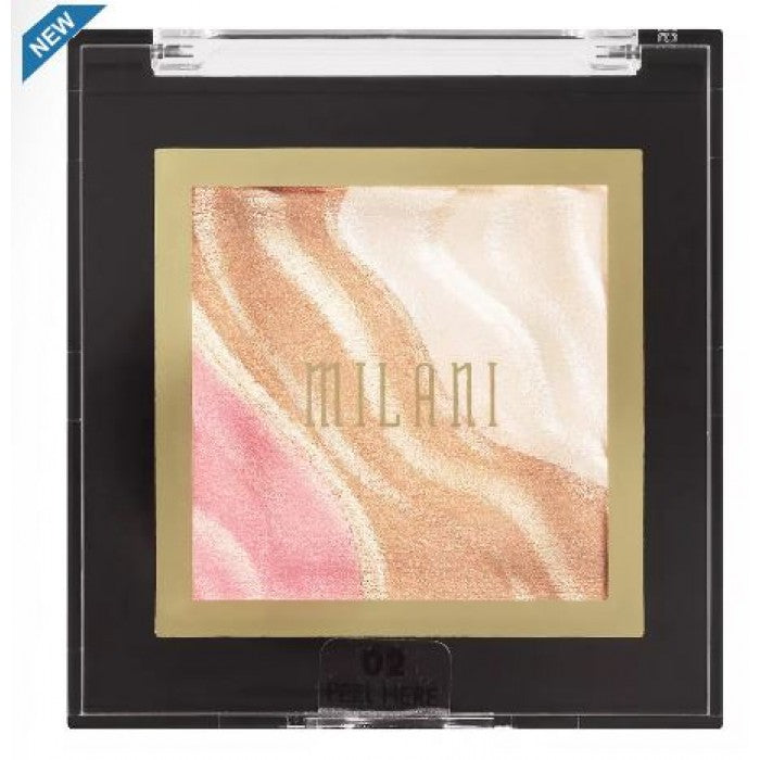 Milani Spotlight Face & Eye Strobe Palette, Candle Light - Shopping District