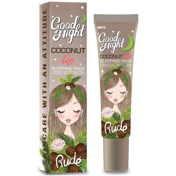 Rude Cosmetics  GOOD NIGHT COCONUT LIP SLEEPING PACK - Shopping District