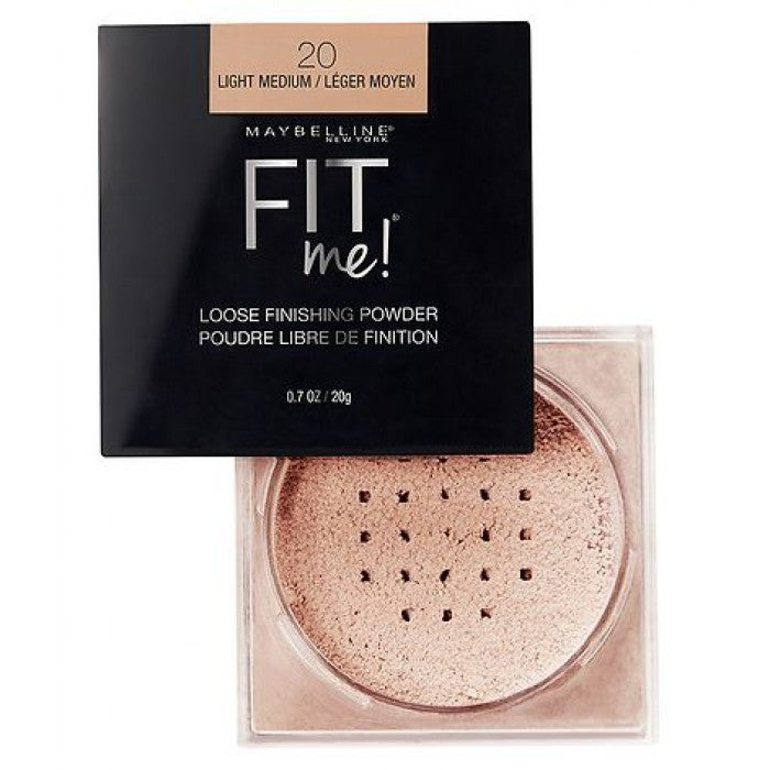 Maybelline Fit Me Loose Finishing Powder, Light Medium - Shopping District