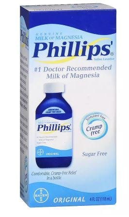 Phillips Genuine Milk of Magnesia (118ml) - Shopping District