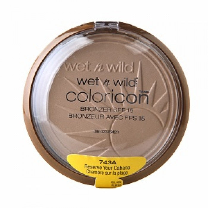 Wet n Wild Color Icon Collection Bronzer SPF 15 Reserve your Cabana