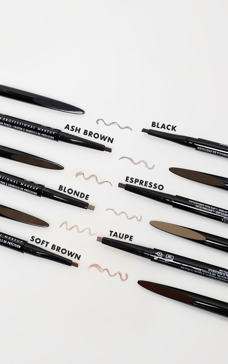 NYX Pricision Brow Pencil - Shopping District
