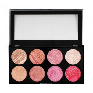 Makeup Revolution Ultra Blush and Contour Palette - Shopping District