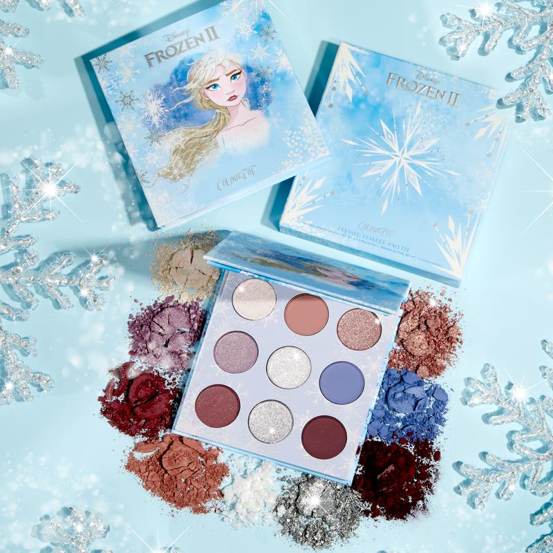 Colourpop Elsa Eyeshadow Palette - Shopping District