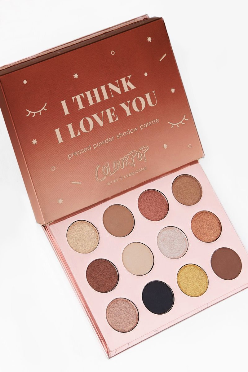 Colourpop I Think I Love You EyeShadow Palette