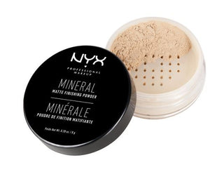 NYX Mineral Finishing Powder,Light/Medium