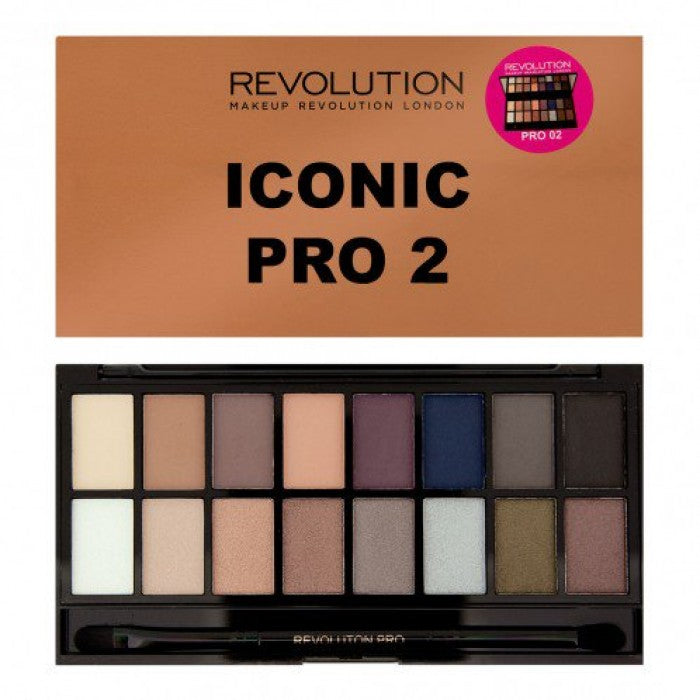 Makeup Revolution Iconic Pro 2 Palette - Shopping District