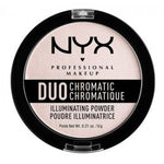 NYX Duo Chromatic Illuminating Powder - Shopping District