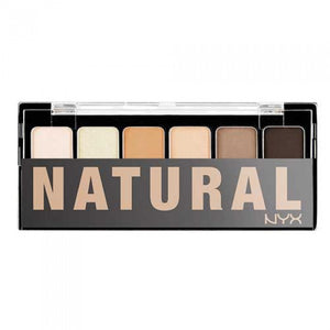 NYX The Natural Shadow Palette - Shopping District