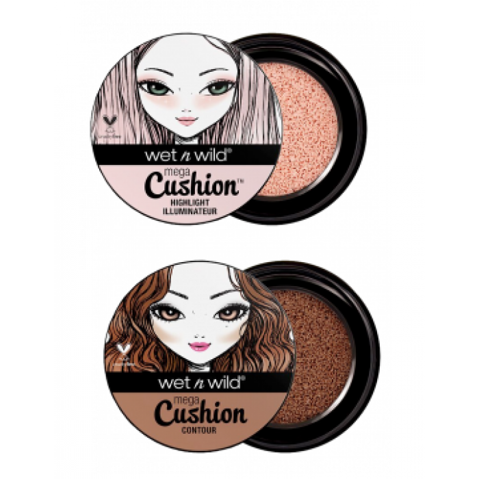 Wet n Wild MegaCushion Highlight/Contour - Shopping District