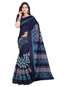E-Vastram Saree (Ns13B_Blue)