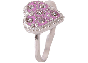 INKA Alloy Silver Plated Ring