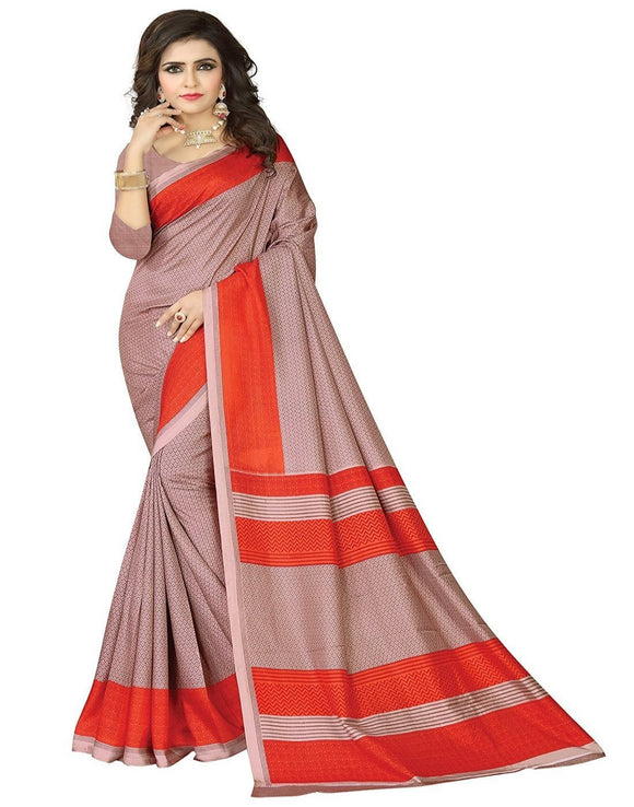 e-VASTRAM Women's Silk Saree With Blouse Piece (Angoori4_Maroon)