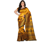 E-Vastram Printed Bollywood Art Silk Saree  (Multicolors)
