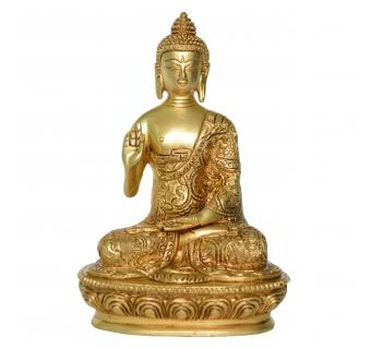 Blesssing Buddha Statue Decorative Showpiece Religious Figure