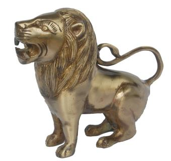 Brassware Lion Statue Unique For Gifting