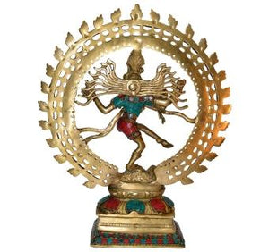Dancing God Shiva Natraj Statue Idol Murti Home Decor Gift