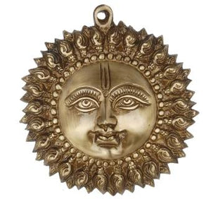 Decorative Sun Face hanging Statue