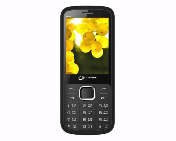 Micromax GC318 (Black) Basic phone