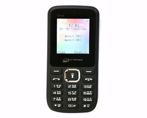 Micromax X406 (Black, 256MB) basic phone