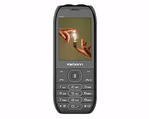 Karbonn K4000 Baahubali, Black basic phone