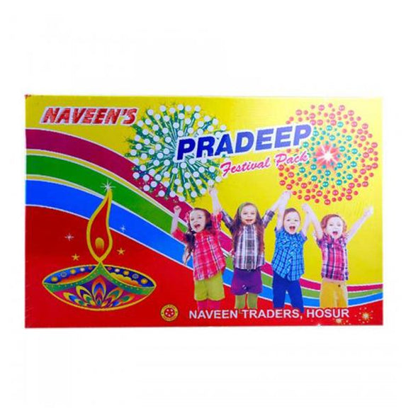 Naveen's Pradeep Festival Crackers Gift box (35 Items)