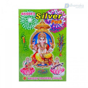 Naveen's Silver Crackers Gift Box (20 Items)