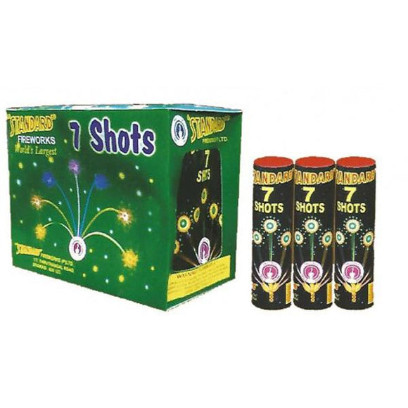 Standard Seven Shots Green(5 Piece)
