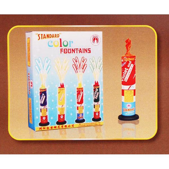 Standard Color Fountains firecrackers