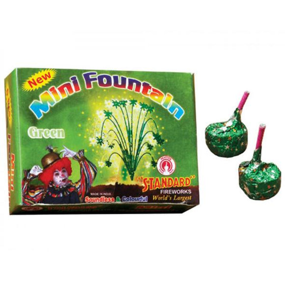 Standard mini fountain - green