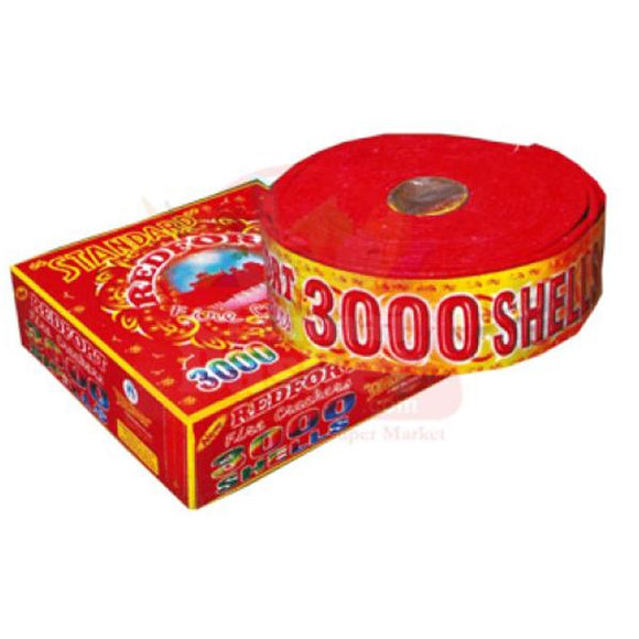 Standard Bullet fire crackers 3000's