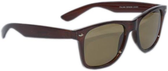 Peter Jones Wayfarer Sunglasses  (Brown)