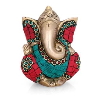 Ganpati - Ganesha Statue with stone work