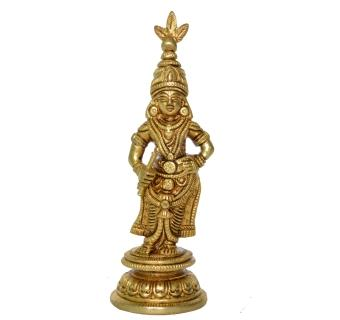 Krishna small Figure in Brass Metal Religious Statue