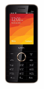 Lava Spark One (256 MB, black) Basic mobile phone